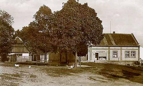 Koloniální obchod pana Fejfara, r. 1935